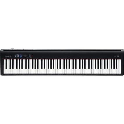 Amazon Roland Digital Portable Piano Fp 30 Bkc Musical