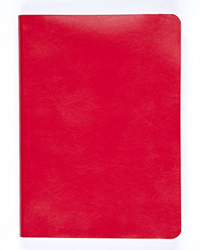(Miquelrius Soft Bound Journal, Red (6 x 8, Lined 300 SHEETS/600 PAGES))