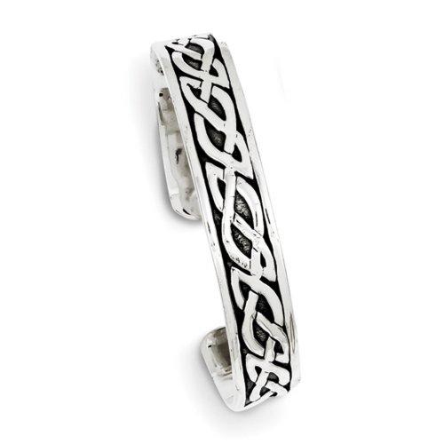 Icecarats Créatrice De Bijoux Bracelet En Argent Sterling 12.5Mm Brassard Bracelet