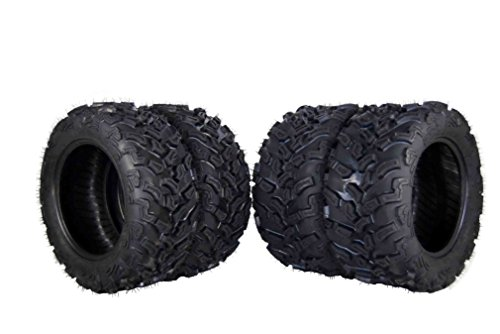 MASSFX 4 Set ATV Tires 26x9-14 Front 26X11-14 Rear Durable Dual Compound 6 Ply