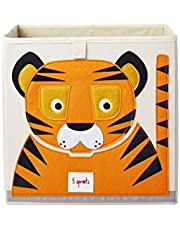 3 Sprouts Cube Storage Box - Organizer Container for Kids & Toddlers