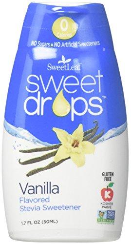 Wisdom Sweet Drops Vanilla 1.7 fl.oz 6 Pack