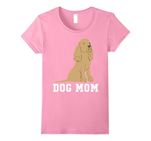 Women's Cocker Spaniel Dog Mom - Mothers Day T-Shirt Medi...