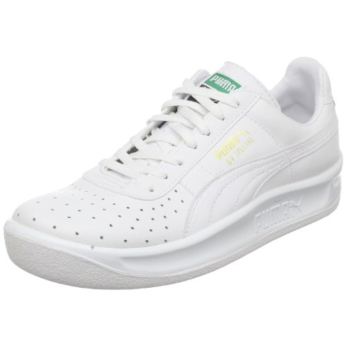 PUMA GV Special JR Sneaker (Little Kid/Big Kid), White/White, 4.5 M US Big Kid (Puma Gv Special White)
