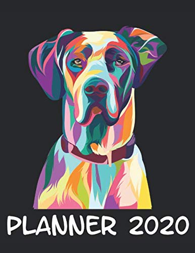 Planner-2020-Planner-Weekly-and-Monthly-for-2020-Calendar-Business-Planners-Organizer-For-To-do-list-85-x-11-with-Great-Dane-Dog-Lover-Colorful-Fun-Funny-Humor