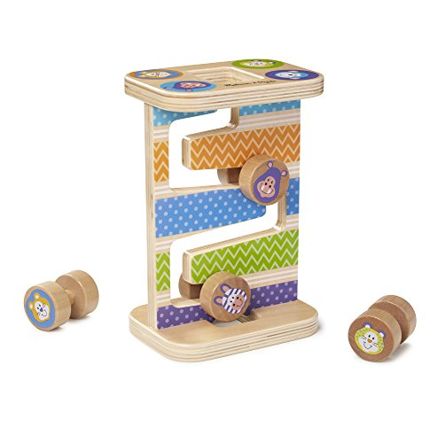 Melissa & Doug Safari Zig-Zag Tower Early Development Toy