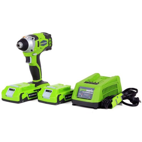 Greenworks 37042 24V Cordless Lithium-Ion DigiPro Impact Driver by Greenworks B00UZVPCZW
