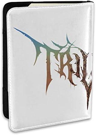 Ember To Inferno Trivium Album トリビウム 音楽 ロック パスポートケース メンズ 男女兼用 パスポートカバー パスポート用カバー パスポートバッグ ポーチ 6.5インチ高級PUレザー 三つのカードケース 家族 国内海外旅行用品 多機能