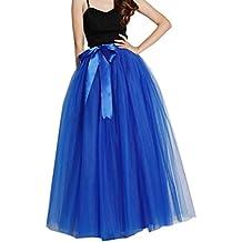 EllieHouse Womens Long Tutu Tulle Skirt PC05