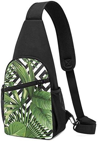 ボディ肩掛け 斜め掛け 葉柄 ショルダーバッグ ワンショルダーバッグ メンズ 軽量 大容量 多機能レジャーバックパック