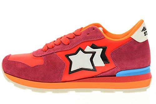 FRA STARS deporte 85C VEGA de Rojo zapatillas bajas ATLANTIC mujeres 0BwTfx66Rq