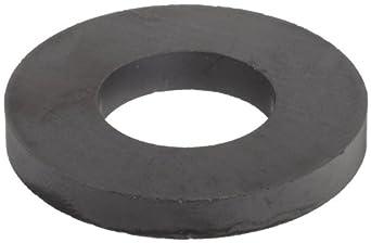 """Ceramic Ring Magnets, 1.75"""" Outer Diameter, 0.865"""" Inner Diameter, 0.225"""" Thick (Pack of 2)"""