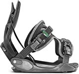 Flow Alpha Snowboard Bindings 2018 - Men's Charcoal/White Large