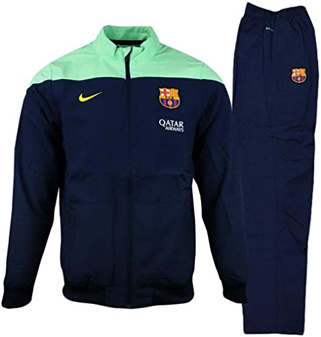 Nike FC Barcelona woven WARMUP Chándal para niño niños: Amazon.es ...