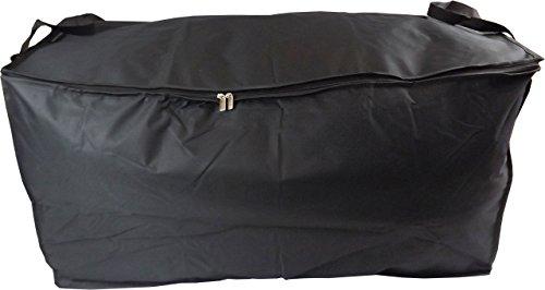 (Neusu Extra Large Bedding Storage Bag, Strong Handles, Black, 200 Liter 35.8