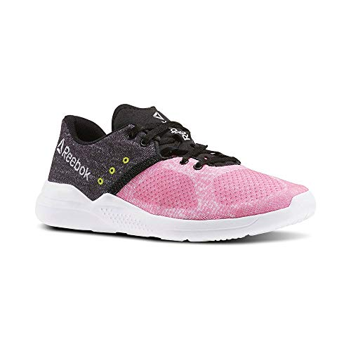 Poison Black Reebok para Pink White Mujer de Edge Rosa Hero Yellow Low Deporte Cardio Zapatillas ggzrT