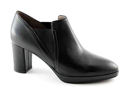 De Mujer V5604 Punta Dcollet Nero Posición Elástica Piel Vertical Melluso En Negros La Zapatos Y1atFqFw