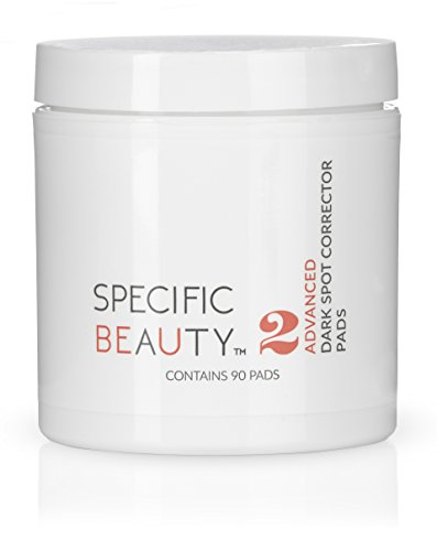Specific Beauty - Advanced Dark Spot Correcting Pads - Resurfacing Antioxidant Brightening Treatment Infused with Botanical Extracts - 90 Day Supply/90 Pad Count