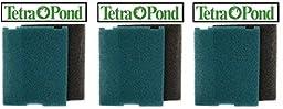 Tetra 19015 Replacement Foam, Flat Box Filter (3-Pack)