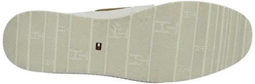 Tommy Hilfiger M1285acy 3D, Scarpe da Barca Donna Bianco (Whisper White 016)
