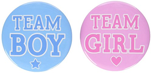 Amscan Girl or Boy? Buttons -