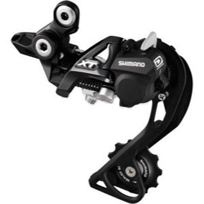 (Shimano Deore XT RD-M786 SGS Shadow Plus Rear Derailleur, Black)