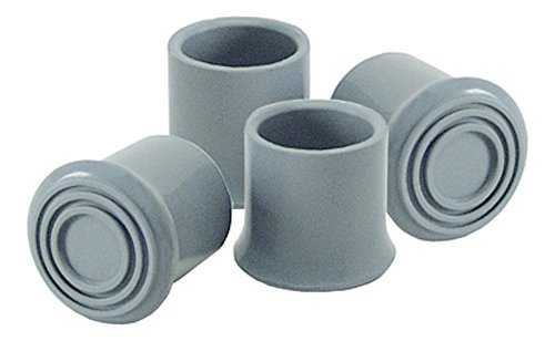 Pivit Commode Rubber Replacement Tips | Pack of 4 | Fits Any 1