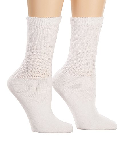 Healthy StepsTM 3 Pack Diabetic Socks