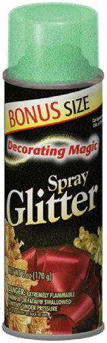 Chase Research Decorating Magic Spray Glitter, 6-Ounce, G...
