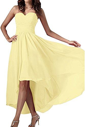 Herzform Nazisse Chiffon Ivydressing Ballkleid Festkleid Abendkleider Einfach Partykleid Damen R88Egwvq