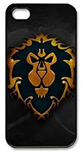 Personalized Protective Case for iPhone 5/5S - Game World of Warcraft Alliance Logo Designed by HnW Accessories