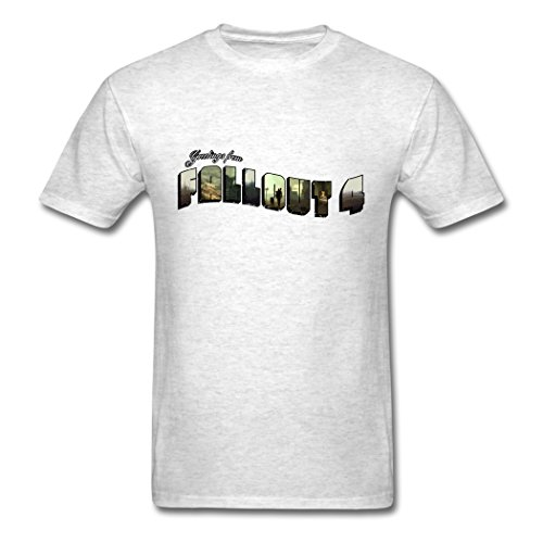 Bangie Fall Out 4 Greeting Slim Fit Light oxford Men T Shirt XX-Large