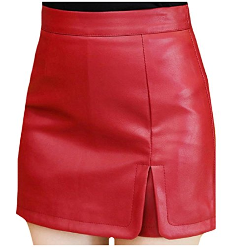 quilted leather skirt - 3