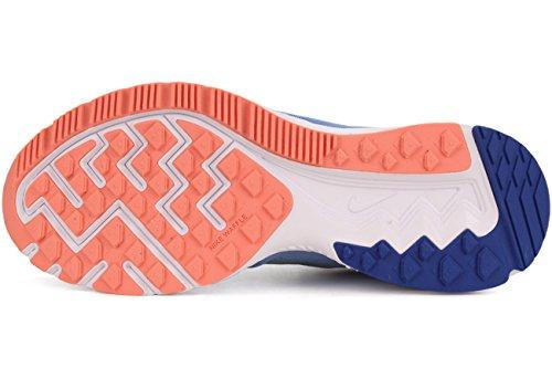 Mujer 2 Nike Chlk Mtlc Bl Wmns Bl atmc para Pltnm Azul Zapatillas Zoom rcr Running Winflo de ggxtw8H4q