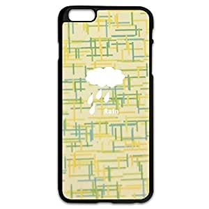 AOPO Phone Cases For IPhone 6 Plus,Rain Personalised Custom IPhone 6 Plus Cavers