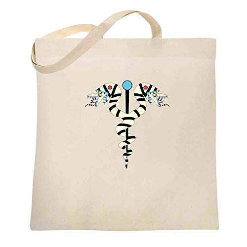 (Sandworms Caduceus Movie Funny Natural 15x15 inches Canvas Tote Bag)
