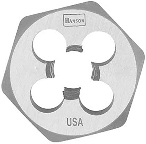 5//8-11 NC Century Drill /& Tool 98213 High Carbon Steel Fractional Hexagon Die