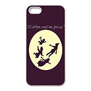 High Quality Phone Back Case Pattern Design 18Never Grow Up Boy PETER PAN Design- For Apple Iphone 5 5S Cases