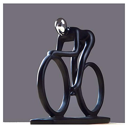 DU&HL Abstract Decoration Decoration Creative Simple Rider Decoration Modern Home Office Living Room TV Cabinet Crafts, Cyclist Rider by DU&HL (Image #2)