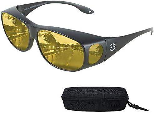 Night Vision Wraparound Glasses Prescription product image