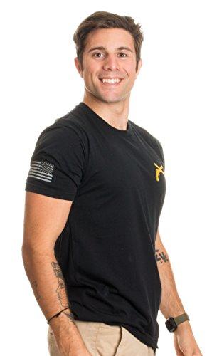 Military Police Crossed Pistols   Sleeve Flag   U S  Army Veteran Mp Guns Shirt  Black 2Xl