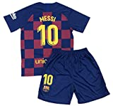 Bayli New Youths Messi 10 Home Jersey & Shorts