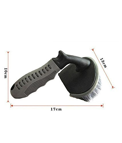 Auto Hub Wheel Tire Rim Scrub Brush Hub Clean Wash Useful Brush Car Truck Motorcycle Bike Washing Cleaning Tool 5