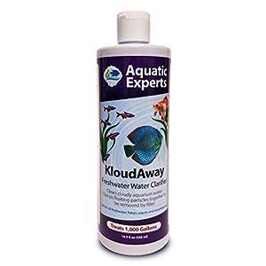 KloudAway Freshwater Aquarium Water Clarifier - Clears Cloudy Water, Water Clarifier for Fish Tank, Made in USA 1