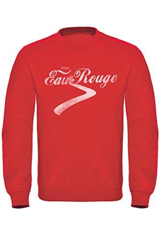 Hotfuel Men's Eau Rouge, Enjoy Crew Neck Top XL Red