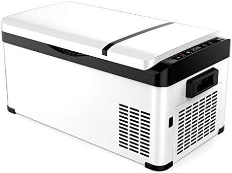 小型冷蔵庫20L車と家庭用デュアルユースミニ冷蔵庫ポータブル冷蔵フレッシュキーピング冷蔵庫ドミトリークーリングボックス