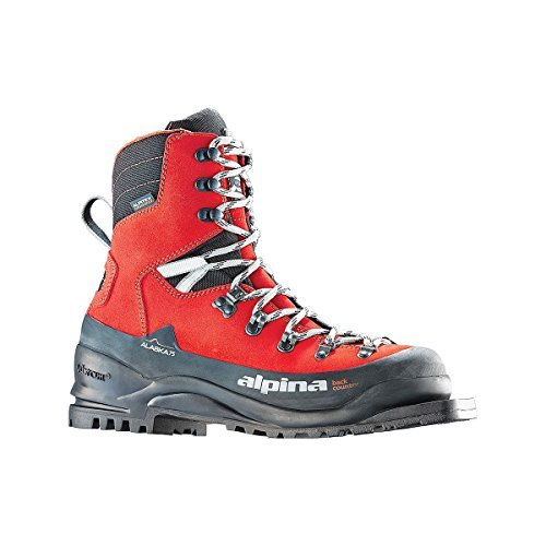 Alpina Sports Alaska 75 Leather 3 Pin 75 mm Backcountry Cross Country Nordic Ski Boots, Euro 40,