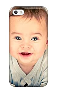 Durable Defender Case For Iphone 5/5s Tpu Cover(baby Cute Adorable Widescreen )