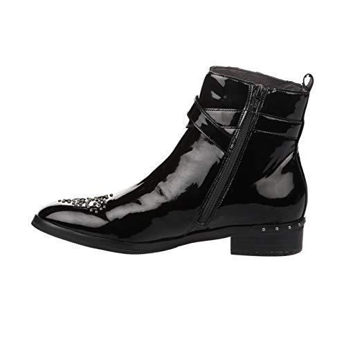 Boots Boots Mam'zelle Mam'zelle Mam'zelle Boots Femme Noir Femme Verni Noir Verni qw0EC0