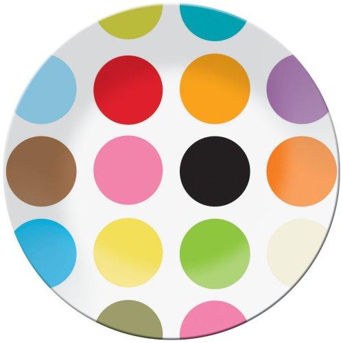 French Bull 15-1/2-Inch Melamine Round Platter, Multi ()